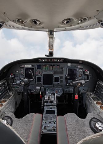 Cessna citation Ultra cabina media/baja 3