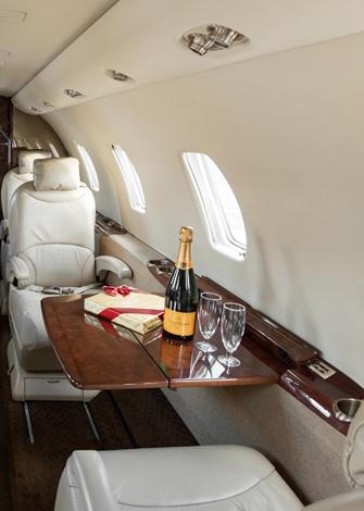 Cessna Citation XLS Cabina media
