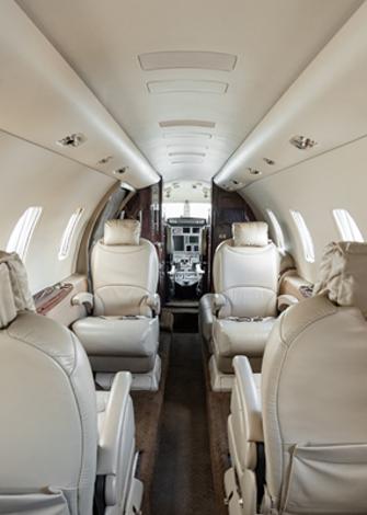 Cessna Citation XLS Cabina media 2