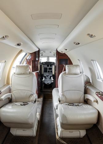 Cessna Citation XLS Cabina media 4